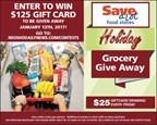 Holiday Grocery Dash Sweepstakes