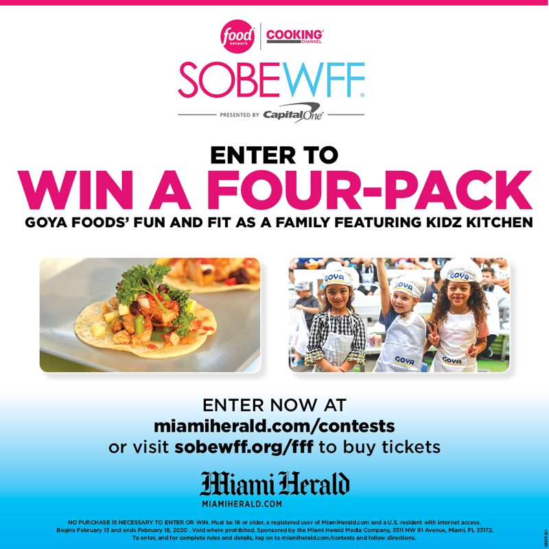 SOBE Food and Wine Festival 2020 Giveaway
