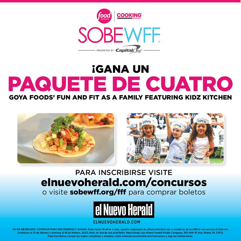 ENH - SOBE Food and Wine Festival 2020 Giveaway