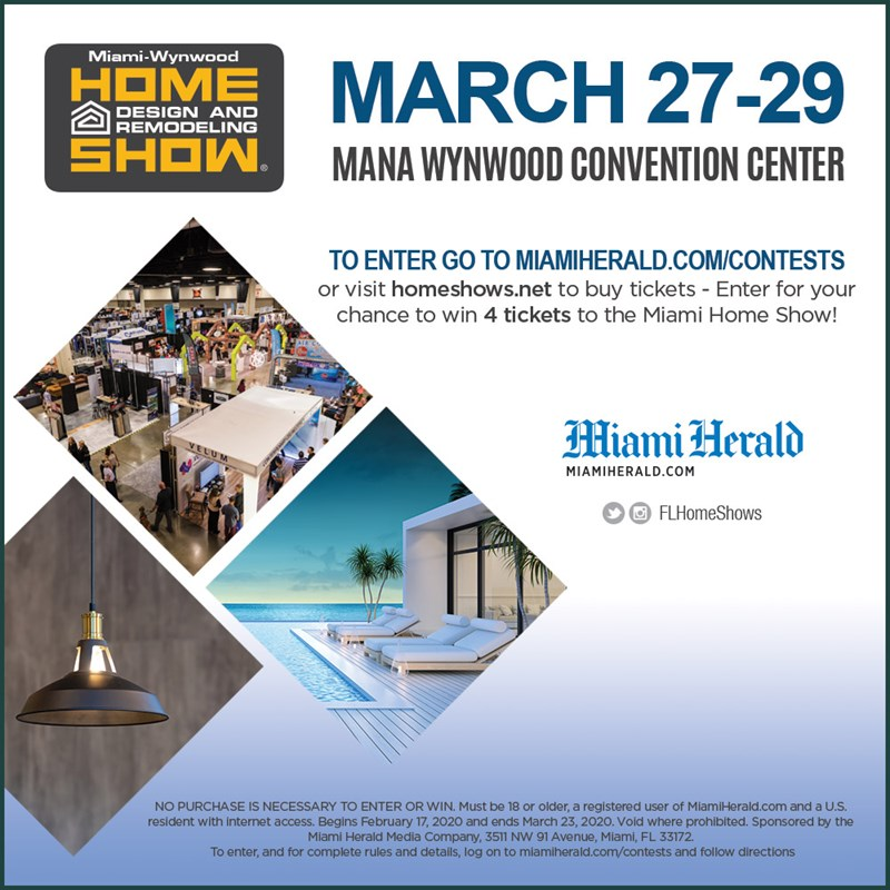 MH - HOME DESIGN AND REMODELING SHOW 2020 Giveaway