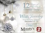 2014 Moody's 12 Days of Christmas Giveaway