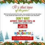 Holiday Activation Contest