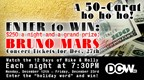 12 Days of 'Mike & Molly' $250 a night plus Bruno Mars tkts!