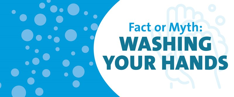 Fact or Myth: Washing Hands