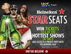Heineken STAR Seats