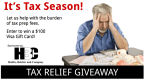 2017 Tax Relief Giveaway