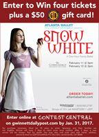 Enter to win Atlanta Ballet's