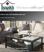 Isaak's Home Furnishings Giveaway