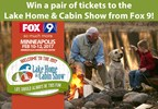 Lake Home and Cabin Show Ticket Giveaway