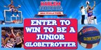Harlem Globetrotters Junior Globetrotters Contest