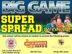 Big Game Super Spread Giveaway