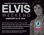 SCJ - Hard Rock Hotel & Casino Elvis Weekend Ticke
