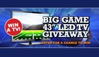 BIG GAME TV GIVE-A-WAY 2017