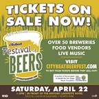 CityBeat Festival of Beers • Sat, Apr 22