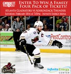 Win tickets to the Gladiators game