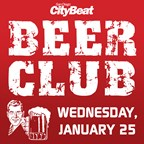 CityBeat Beer Club • Wednesday, January 25