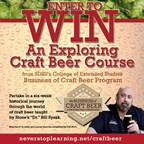 SDSU Exploring Craft Beer 6 week course with Dr. Bill Sysak