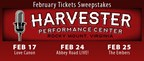 February Harvester Tickets Giveaway