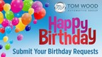 Happy Birthday Tom Wood