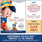 ENH-Pinocchio Blue Ray Giveaway