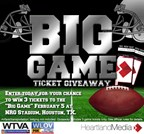 2017 Big Game Ticket Giveaway