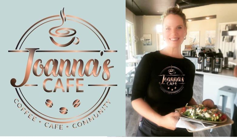 Enter for a chance to win a $50 gift Certificate to Joanna's Café