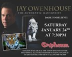 Jay Owenhouse � The Authentic Illusionist Ticket S