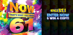 WIN A COPY OF NOW THAT�S WHAT I CALL MUSIC 61!