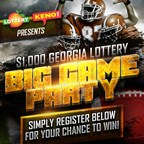 The $1000 Big Game Party Contest!