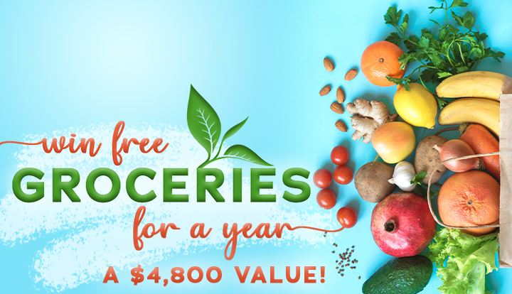 Groceries For A Year Sweepstakes