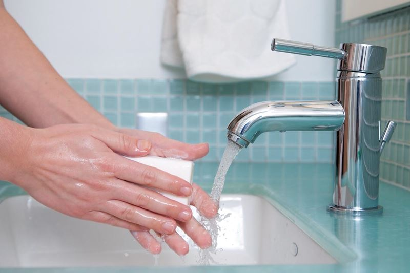 Fact or Myth? Washing your hands.