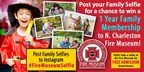 Win a 1 year family membership to the North Charle