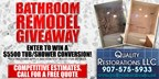 Quality Restorations Bathroom Remodel Giveaway