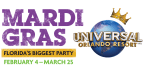 Mardi Gras at Universal Orlando� Resort