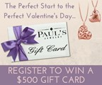 Paul's Jewelry Valentine's Giveaway