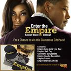 EMPIRE GOLD BAG GIVEAWAY