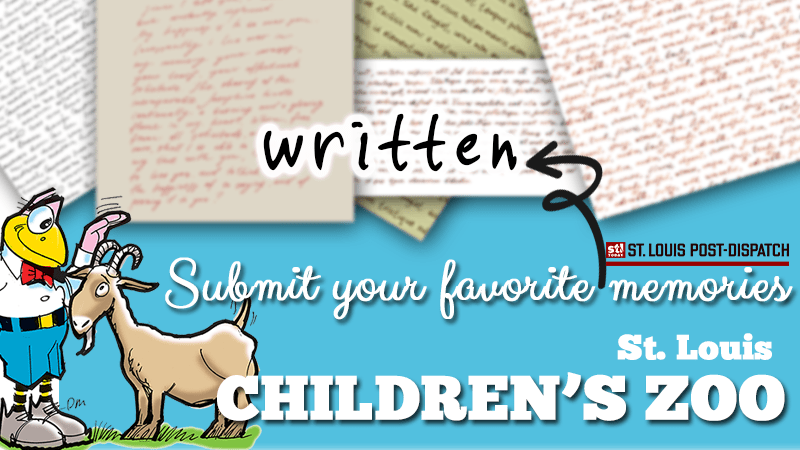 Submit your (written) memories of the Children's Zoo