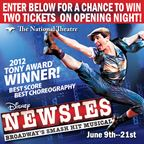 Newsies @ The National Theatre