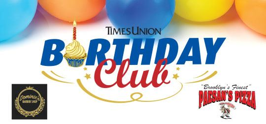 Times Union Birthday Club