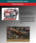 Professional Bull Riders Ticket Giveaway