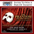 Win tickets to The Phantom of the Opera