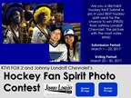 Hockey Fan Spirit Photo Contest