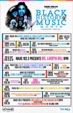 Black Music Month Concert Series Giveaway