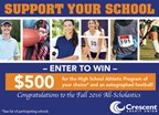 Crescent Credit Union's All-Scholastic Sweepstakes