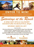 One Day Spa & Culinary Adventure at Rancho La Puerta!