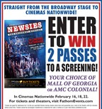 Win passes to a screening of 'Newsies'