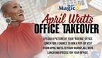 April Watt's Office Takeover