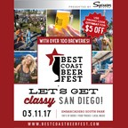 Best Coast Beer Fest • March 11