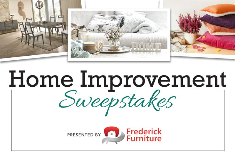Fall Home Improvement Sweepstakes