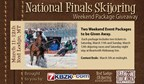 Skijoring Finals Contest